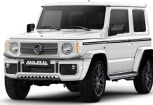 Modified Suzuki Jimny Damd Little G