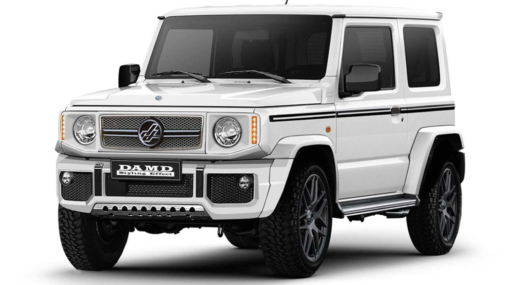 Suzuki Jimny Turned Into Mini Defender And G-Class Makes Us Crave!