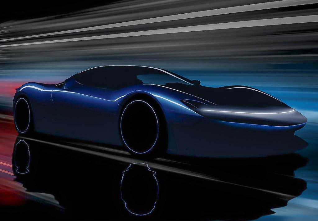 Pininfarina PF0 Hypercar Teaser 1