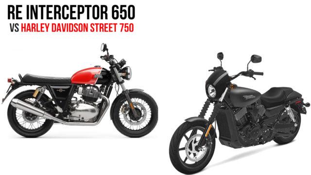Royal Enfield Interceptor 650 Vs Harley Davidson Street 750
