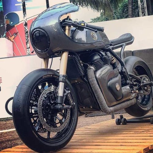 Royal enfield custom gt 650 vigilante rajputana customs 2