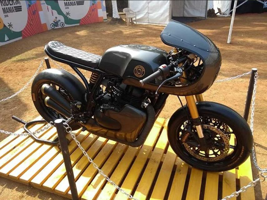 This Custom Royal Enfield GT650 'Vigilante' Will Take Your