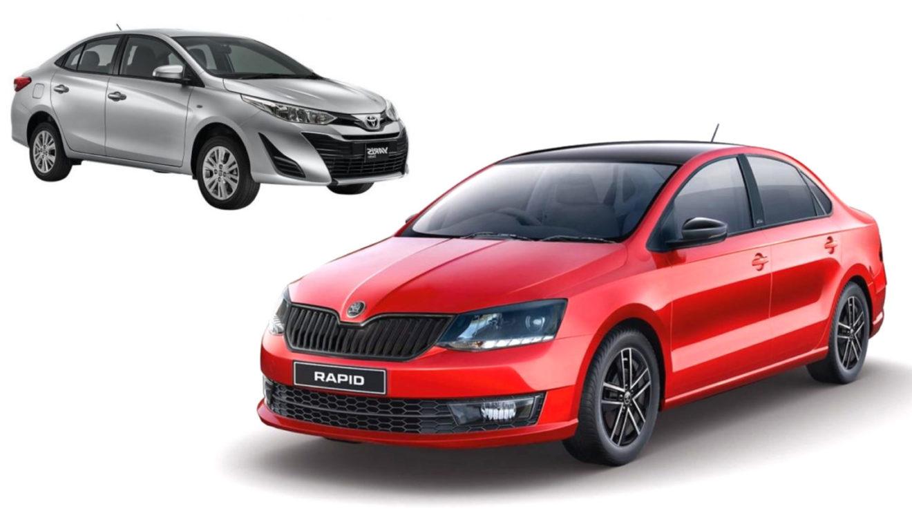 Skoda Rapid, VW Vento Beats Toyota Yaris In October