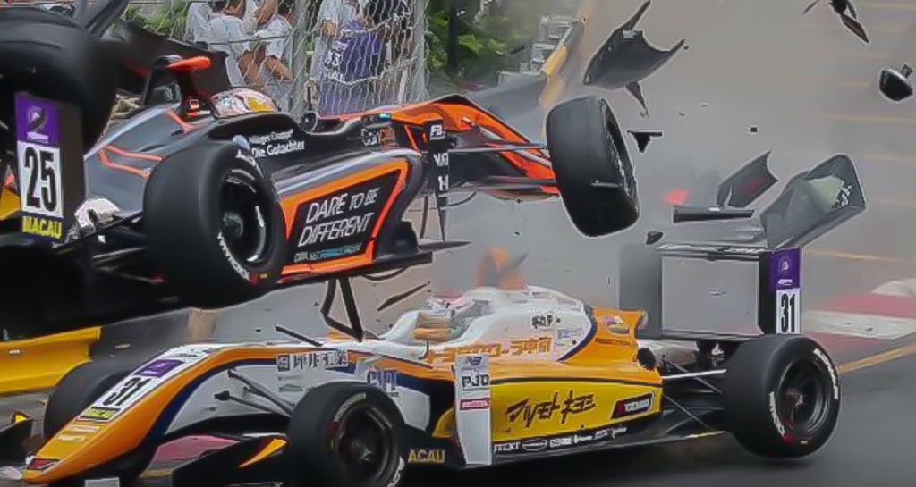 German F3 driver Sophia Floersch fractures spine in Macau Grand Prix crash