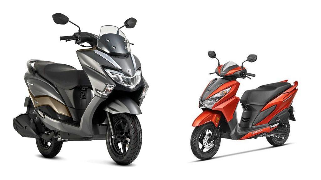 Suzuki-Burgman-Street-vs-Honda-Grazia