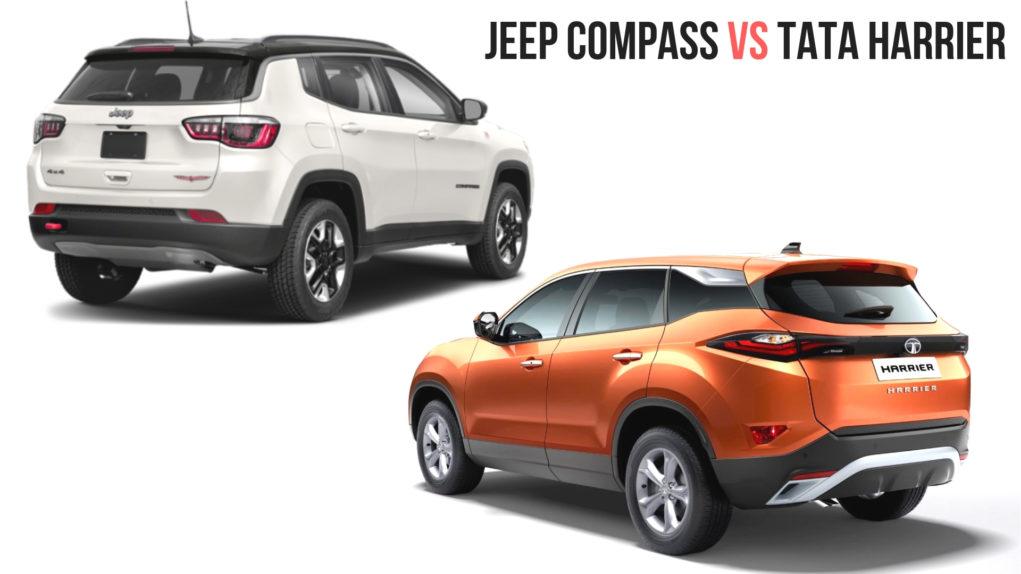 Tata Harrier vs Jeep Compass – Comparison Review 1