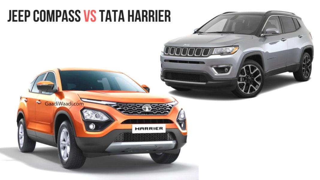 Tata Harrier vs Jeep Compass – Comparison Review