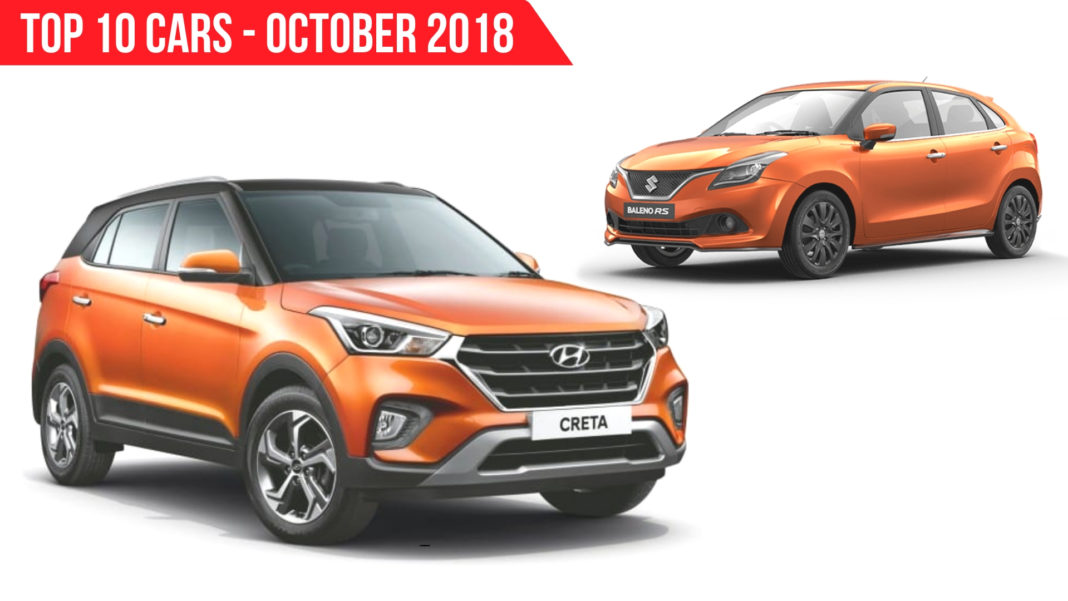 Top 10 Selling Cars In October 2018 In India
