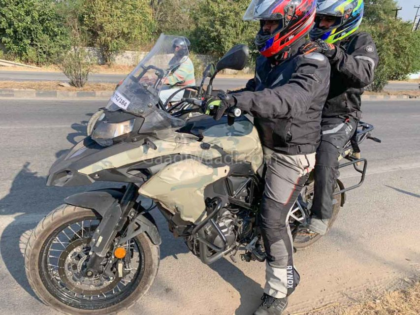 benelli trk 502 spied in india-1