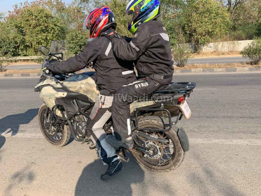 benelli trk 502 spied in india-2