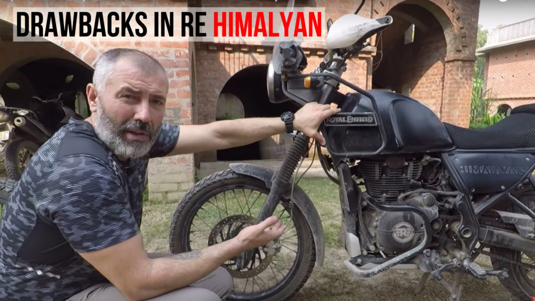 drawbacks in re himalayan