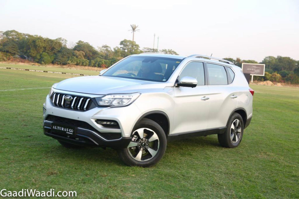mahindra alturas g4 front grille