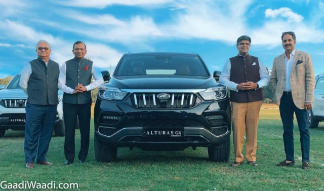 mahindra alturas g4 launched in india