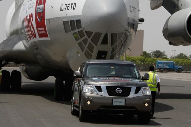 nissan pulled aircraft