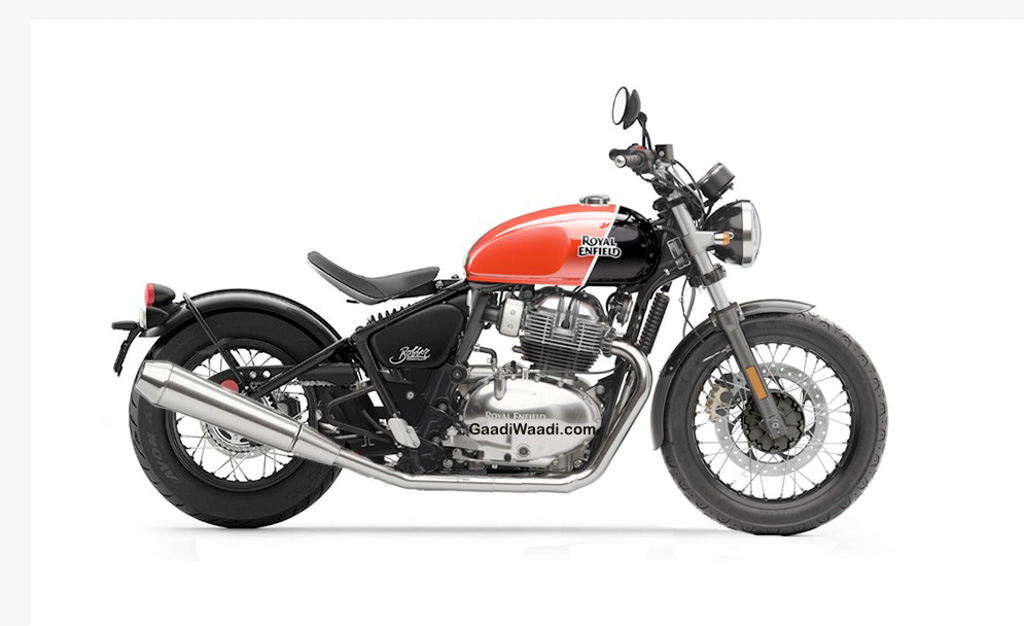 royal enfield 650 bobber Render