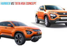 tata h5x vs tata harrier
