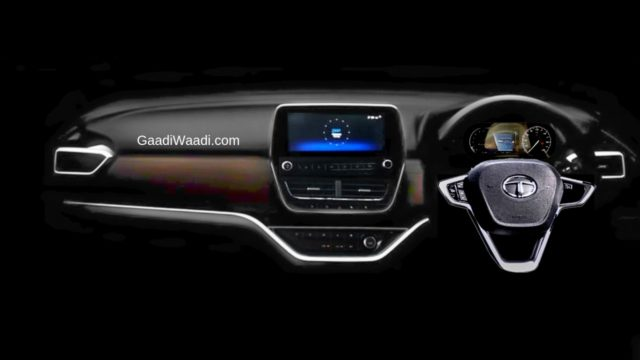 tata harrier interior design dashboard image details