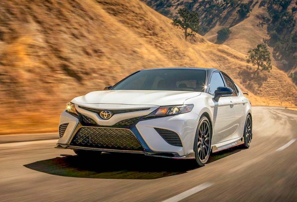 All New Toyota Camry Trd Sedan Revealed With 301 Hp Claims To Be