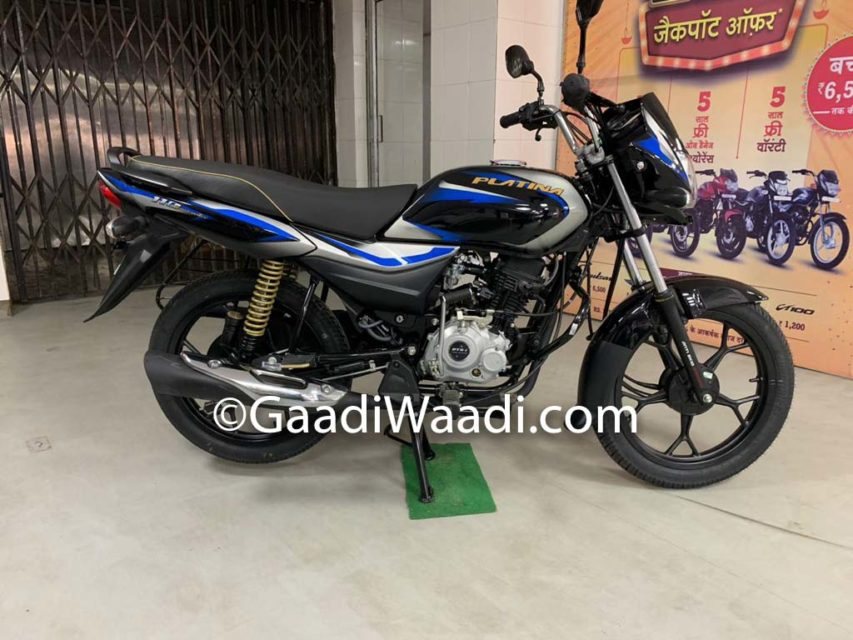 2019 Bajaj Platina 110 CBS Launched In India, Price, Specs, Booking, Features, Mileage 4