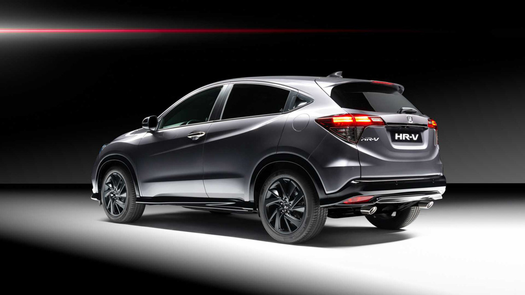 Honda HR-V Gains 'Sport' Treatment With 180 BHP Engine From Civic