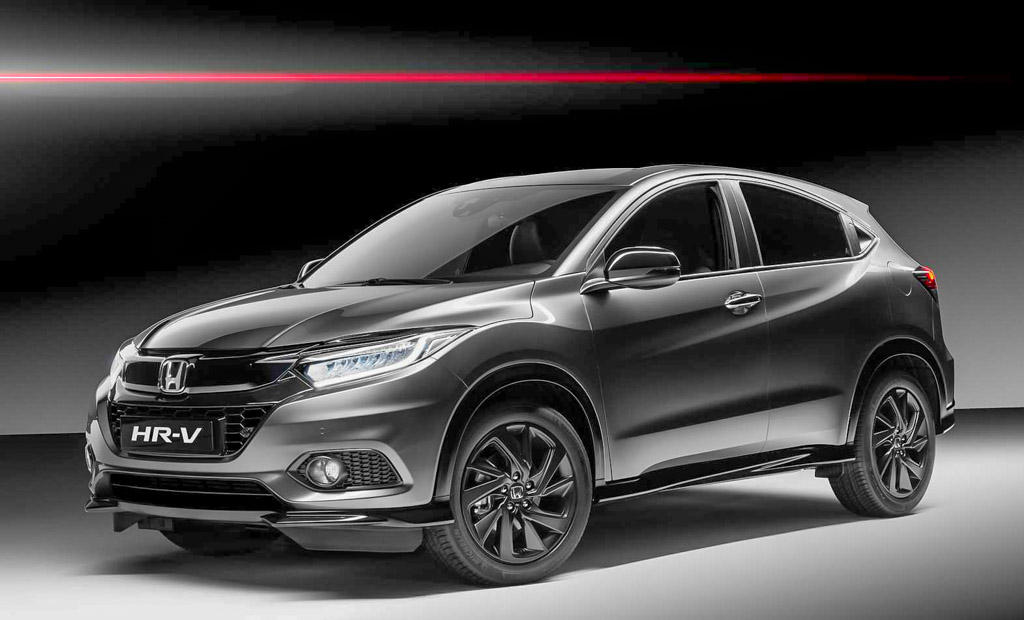 Honda Hr V Gains Sport Treatment With 180 Bhp Engine