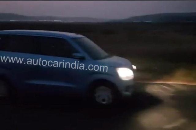 2019 Maruti Suzuki Wagon R Spied 1
