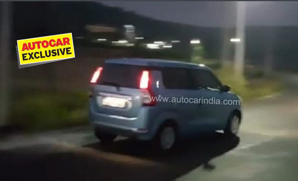 2019 Maruti Suzuki Wagon R Spied