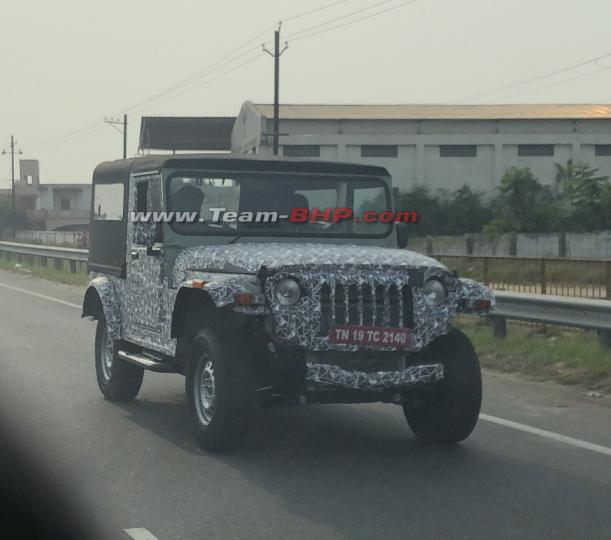 2019 mahindra thar images front three quarters