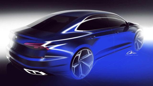 2020 Volkswagen Passat Rear Teaser