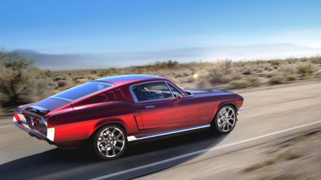 Electric Ford Mustang (Aviar R67)