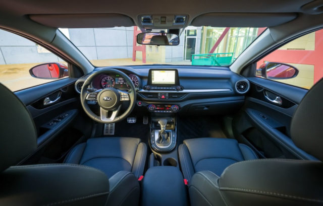 India-Bound 2019 Kia Cerato Interior