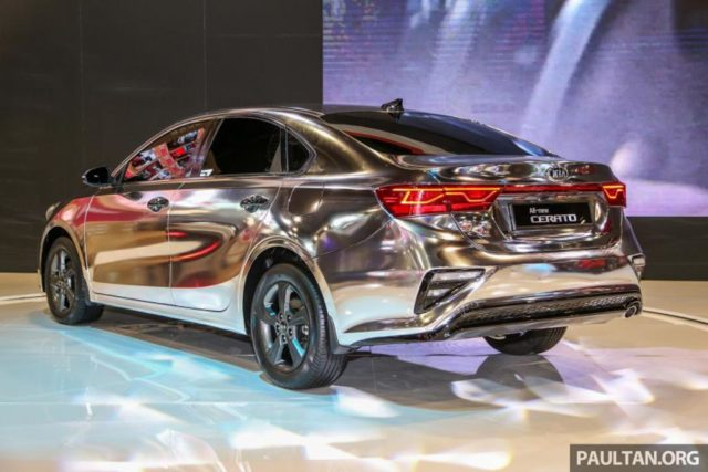India-Bound 2019 Kia Cerato Rear