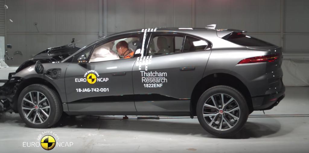 Jaguar I-Pace Euro NCAP