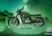 Jawa Forty Two Galactic Green Colour (42)