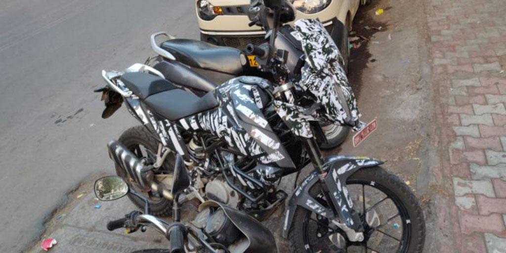 KTM 390 Adventure Spied India 1