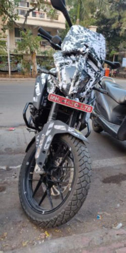 KTM 390 Adventure Spied India 2