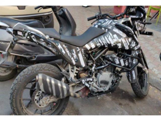 KTM 390 Adventure Spied India