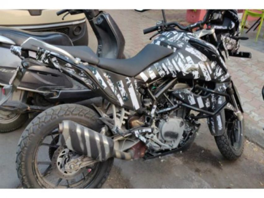 KTM 390 Adventure Spied India