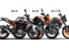KTM Duke 125 Vs Duke 200 Vs Duke 250 - Comparison