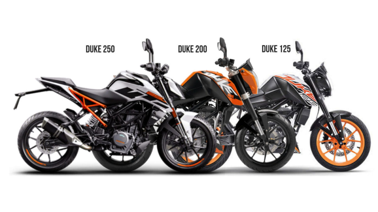 Updated Price List Of Ktm Bikes In India Duke 125 To Rc 390