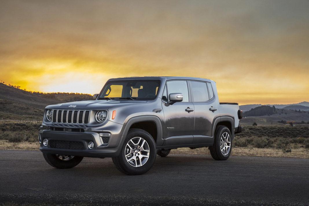 Kleber Silva jeep renegade truck rendering