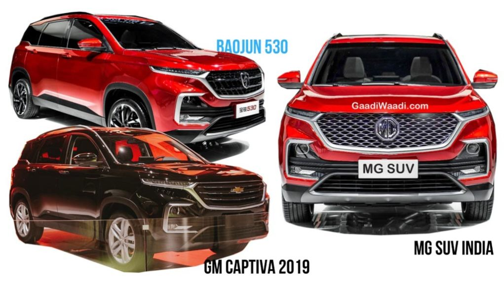 MG Motor's First SUV For India Will Have Similarities With 2019 Chevy Captiva - Details