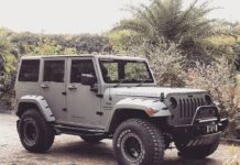 Mahindra-Bolero-customized-to-look-like-Jeep-Wrangler