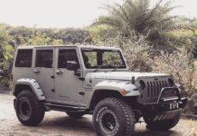 Mahindra-Bolero-customized-to-look-like-Jeep-Wrangler