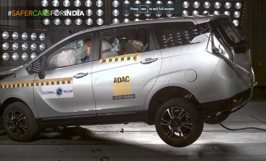 Mahindra Marazzo Is The First India-Made MPV To Get 4 Stars In Global NCAP