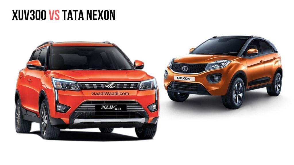 Mahindra-XUV-300-vs-Tata-Nexon