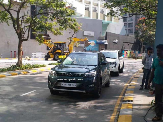 Mahindra XUV300 Spied Undisguised 1