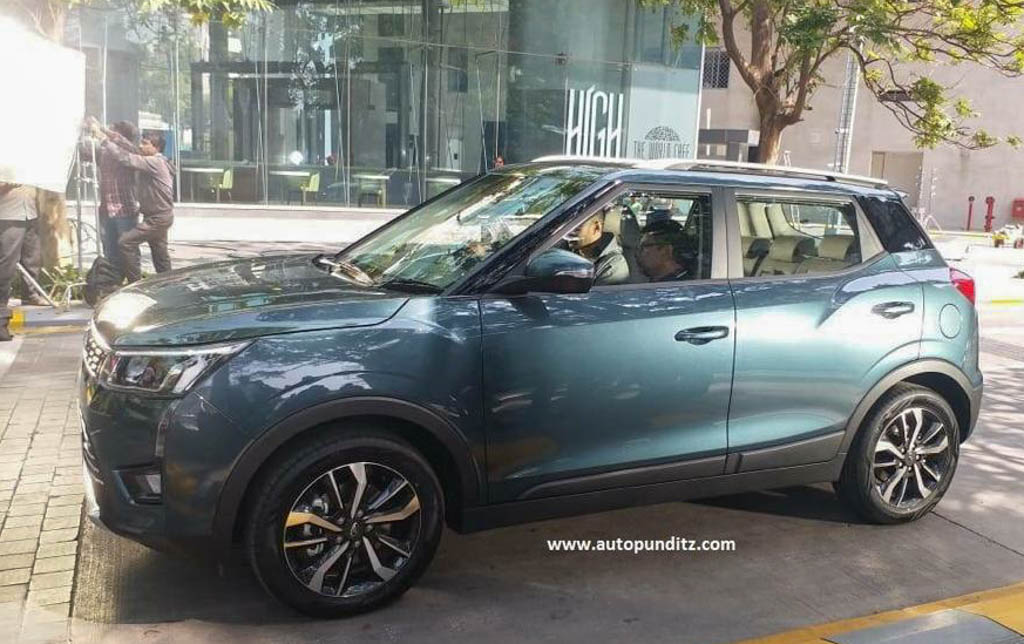 Mahindra XUV300 Spied Undisguised 2