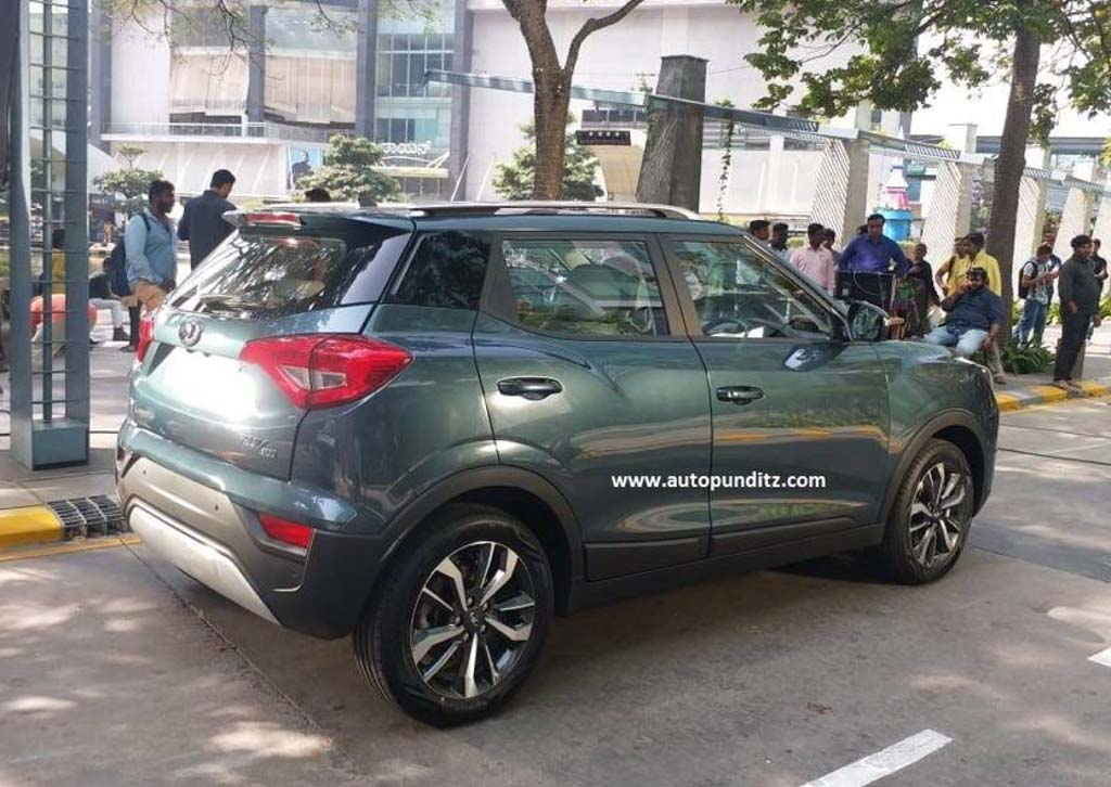 Mahindra XUV300 Spied Undisguised