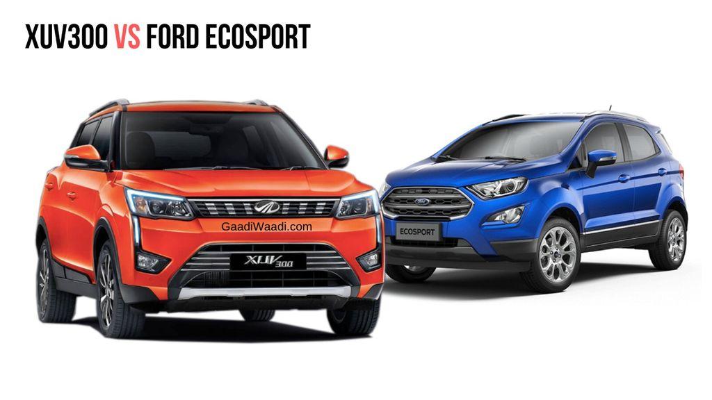 Mahindra-XUV300-vs-Ford-EcoSport